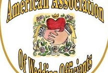 American Association of Wedding Officiants / Members of the AAWO, professional wedding officiants in USA, information and pictures.  / by Fig Street Studio