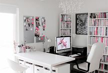 DrEam OFfice / Stylish Home office decoration and storage ideas