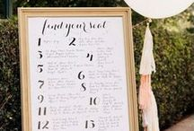 Seating Chart & Escort Cards / by Aisle Perfect - Wedding Blog