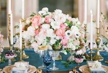 Centerpieces / Beautiful centerpiece ideas for your wedding reception  / by Aisle Perfect - Weddings