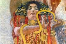 Klimt.. / Art is the most intense mode of individualism that the world has known; Oscar Wilde