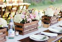Table Setting and Decor / Gorgeous Wedding Table Settings and Decor  / by Aisle Perfect - Wedding Blog