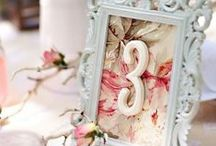 Table Numbers / by Aisle Perfect - Weddings