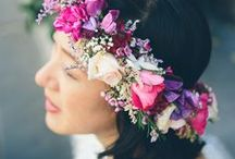 Flower Crowns / by Aisle Perfect - Wedding Blog