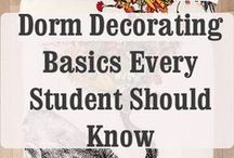 Dorm Decorating / Ways to hack, jazz up and otherwise make your UK dorm into your home away from home.  *Pins of products for sale are not meant as university endorsements of items. / by University of Kentucky