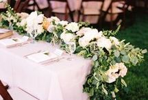 Table Runners / by Aisle Perfect - Wedding Blog