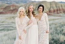 Lace Wedding Gowns / by Aisle Perfect - Wedding Blog