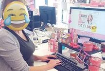LIFE @ HQ... Behind the SOAP SUDS! / Take a peek at what goes on at #SoapandGlory HQ...