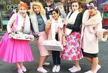 THE GLORY GIRLS! / IT'S THE OMGG – OH MY GLORY GIRLS!  Introducing a KICK ASS team of REAL LIFE SOAP & GLORY GIRLS who will be giving out fabulous freebies, vouchers and mini make-ups (like a make-over but we're so over those) to tempt, treat and tantalise you.