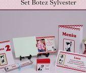 Set Botez Sylvester / BebeStudio11 - Personalizam invitatii, marturii, plicuri de bani, meniuri, nr de masa pentru botez.