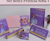 Set Botez Printesa Sofia 1 / BebeStudio11 - Personalizam invitatii, marturii, plicuri de bani, meniuri, nr de masa pentru botez.