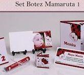 Set Botez Mamaruta 1 / BebeStudio11 - Personalizam invitatii, marturii, plicuri de bani, meniuri, nr de masa pentru botez.