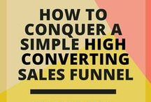 Biz: Inside The Sales Funnel / Conquer the sales funnel.