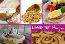 Breakfast Recipes / by Susie @SusieQTpiesCafe.com