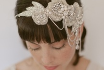 Hair & Headwear / Your hair is an accessory.  Don't be conventional with a simple updo, make your wedding day special with a unique hairstyle or hat.