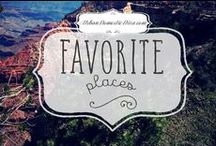 Favorite Places & Spaces / where've been, where we wanna go, and all the pretty pics that honor those places. We can dream-can't we?