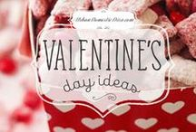Valentines day ideas / Valentine treats, decor, party and gift ideas. #valentine