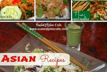 Asian Food  / by Susie @SusieQTpiesCafe.com