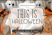 Halloween / Crafts, party, costume and decor ideas for the spookiest holiday of the year! / by The Urban Domestic Diva (Flora C.)