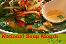 {January} Soup Month / Let's celebrate National Soup Month and share tasty recipes that are soups. If you want to be a contributor email me cafescrapper@gmail.com and you can invite others. Non soup related pins will be deleted.   I'm Susie - a Social Media Consultant & Virtual Assistant. I create new recipes, quick easy meals, menu plans, crafts, cookbook reviews & a healthier lifestyle! http://www.SusieQTpiesCafe.com