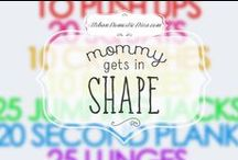 Mommy Daughter Get In Shape / Ways to get in shape and get healthy. #exercise #workout