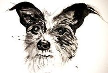 Petworks / hand painted pet portraits - custom / by Ann Krier