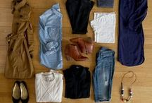 Must Have Clothes / Wardrobe essentials for men and women, spring and fall. Shoes, tops, pants, suits, belts, skirts, dresses.