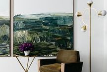 + ART + / Art and other inspiration for decorating your walls.