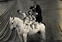 20's retro circus / inspiration images for retro playing card deck