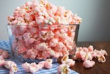 Popcorn Bowl / Popcorn recipes.  Snacks. Dessert.