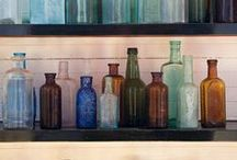 Home Decor Bottles Containers Jars / Containers of all kinds and good ideas on how to use them / by Betty J Roberts