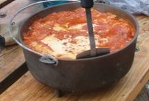 Food Cast Iron Dutch Oven / how to clean your cast iron, recipes, misc. / by Betty J Roberts