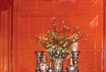 Kleur in je interieur: ORANJE / Oranje: een fris en vrolijke of juist warme uitstraling!
