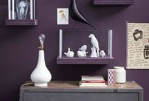 Kleur in je interieur: PAARS / Van het lieflijke lilapaars tot het zwaardere 'deep purple'!
