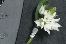 Personal Flowers / Cohesive personal flowers such as boutonnieres, wristlets, flower girl wreaths or pomadores, and others enhance the overall impact of an event.