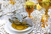 tablescapes/arrangements / by Christina Ray