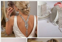 Wedding Accessories / Collection of jewelry, hairpieces, flower girl baskets, and other wedding day accessories that complete the look.