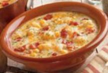 Food Soup Stews / Dumplings,chowder, gumbo, jambalaya, soup, stew / by Betty J Roberts