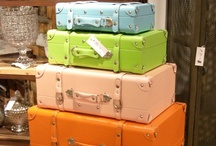 Home Decor Suitcases / suitcase storage and design / by Betty J Roberts