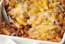 Food Casseroles / Lots of Casseroles that I have not tried.   / by Betty J Roberts