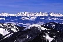 Panorama High Tatras - Panorámy Vysoké Tatry
