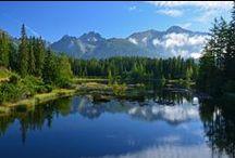 Lakes in High Tatras - Jazerá Vysoké Tatry