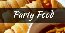 Recipes: Party Food Recipes / Find the best party food for a crowd. Great finger food recipe ideas, easy, cheap for birthdays, picnics, football and more!