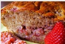 Food  Bread dessert loaves... / Sweet loaves of bread / by Betty J Roberts