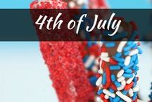 Celebrate: 4th of July / Find the best 4th of July party and outfit ideas, party food recipes, party decorations and desserts. Check out crafts, fun activities and games for kids!