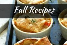 Recipes: Fall Recipes / The best fall recipes using seasonal ingredients! Try out timeless fall dish ideas from crockpot, pumpkin soup, desserts, and pies for a great family dinner.