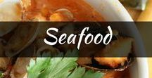 Recipes: Seafood Recipes / Want something fishy? Find the best seafood recipes from crab, shrimp, lobster, fish and soups. Discover tasty grilled seafood, kebab, cajun and crockpot, baked and pasta!