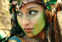 Fairies and Enchanted Creatures / mystical and magical forrest creatures and nature