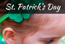 Celebrate: St Patricks Day / Have a great St. Patrick's Day feast with irish themed outfit and decorations, and crafts for kids. Obviously, the celebration will not be complete without St. Patrick's Day inspired food, drinks and desserts!
