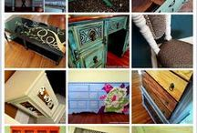 Furniture Restyle / Let's thrift something fugly and make it pretty.